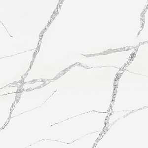 Calacatta White Quartz Kitchen Worktops
